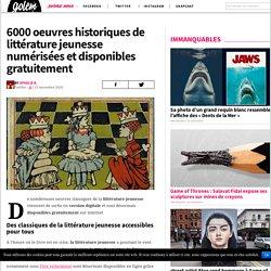 6000 oeuvres historiques de littérature jeunesse numérisées et disponibles gratuitement