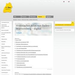Historischer Atlas von Baden-Württemberg - LEO-BW