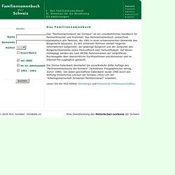 Historisches Lexikon der Schweiz (HLS)