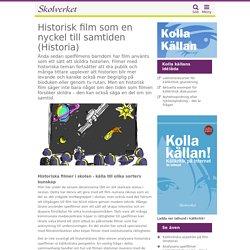 Historisk film som en nyckel till samtiden