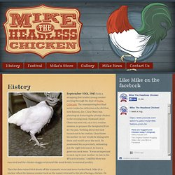 Mike, the Headless Chicken