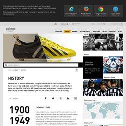 adidas Group - History