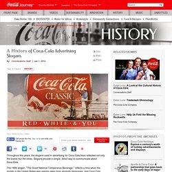 A History of Coca-Cola Advertising Slogans: The Coca-Cola Company