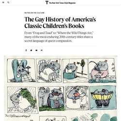 The Gay History of America's Classic Children's Books