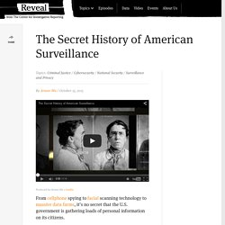 The Secret History of American Surveillance