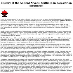History of the Ancient Aryans