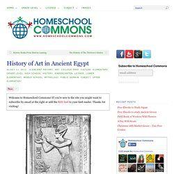 History of Art in Ancient Egypt