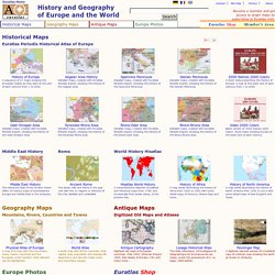 history and geography of europe: euratlas.net