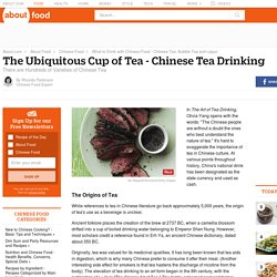 History and Types of Chinese Tea