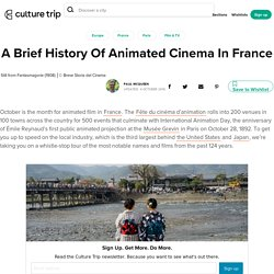 A Brief History Of Animated Cinema In France