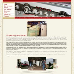 History - Antique Electro
