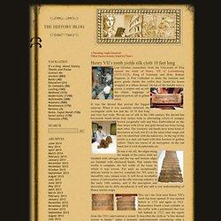 Henry VII's tomb yields silk cloth 10 feet long