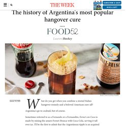 The history of Argentina's most popular hangover cure