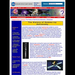 The History of Gamma-ray Astronomy - Introduction