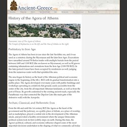 History of the Athenian Agora