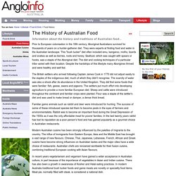 The History of Australian Food