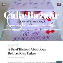 A Brief History About Our Beloved Cup Cakes