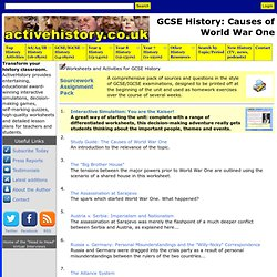 GCSE History: Causes of World War One