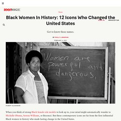 Black Women In History: 12 Icons Who Changed the United States