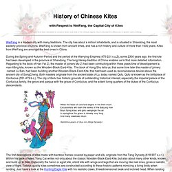 History of Chinese Kites