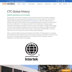 CTC Global history helps in understanding the company's details