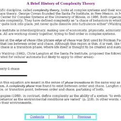A Brief History of Complexity Theory