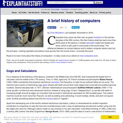 History of computers - from the Abacus to the iPhone