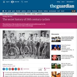 The secret history of 19th century cyclists
