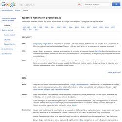 FUN - Google - Google Timeline