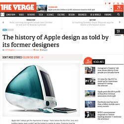 The history of Apple design as told by its former designers