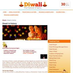 Diwali in History,History of Diwali,Myths of Dipawali Festival,Dipawali History