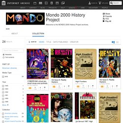 Mondo 2000 History Project : Free Texts : Download & Streaming