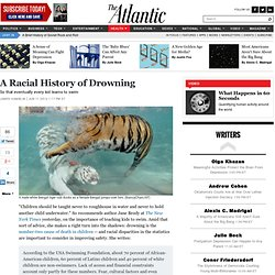 A Racial History of Drowning