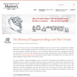 The History of Engagement Rings and Their Trends - Enga