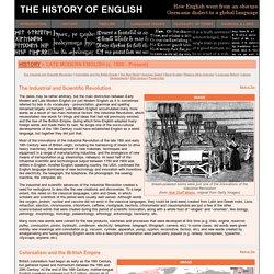 The History of English - Late Modern English (c. 1800 - Present)