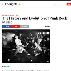 A Brief History of Punk Music