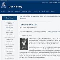 160 Years 160 Stories