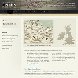 History of Faversham, in Swale and Kent | Map and description