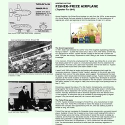 History of the Fisher-Price Airplane (Tu-164 / FP-72)