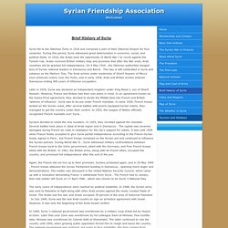 Syrian Friendship Association
