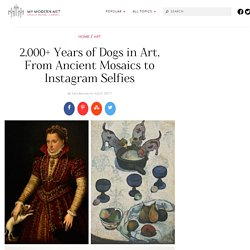 The History of Dog Art From the Ancient Past to the Present