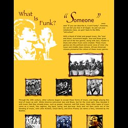 History of Funk