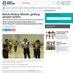 Black History Month: getting people active