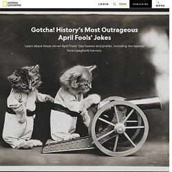 History's Greatest April Fools Jokes
