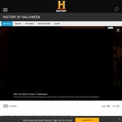 History of Halloween - Halloween