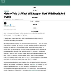 History Tells Us What Will Happen Next With Brexit And Trump