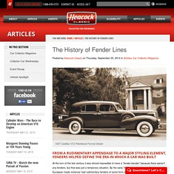 The History of Fender Lines