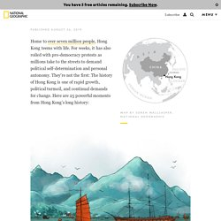 The history of Hong Kong, visualized