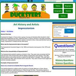 History: Impressionism Art for Kids