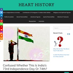 Know about History Of Independence Day